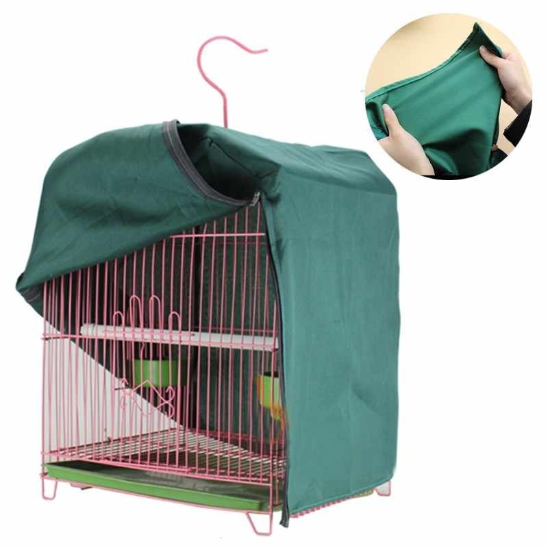 3 Types Bird Cage Cover Functional Sleep Budgie Parrot Canary Light-proof Thicken Ordinary Reduces Distractions Without Cage