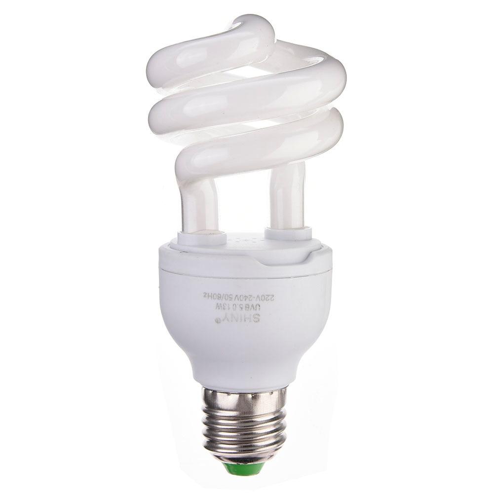 New 13W Reptile Ultraviolet Light Bulb UVB Lamp Energy Saving E27 Calcium Supplement Light Bulb For Reptiles Tortoise Amphibians