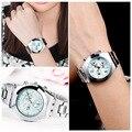 Hot! Fashion LONGBO Luxury Waterproof Ladies Watch Gift for friends Crystal Diamond Quartz-watch Clock Women Wrist Watch