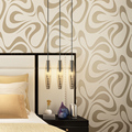 Wallpaper modern brief pearl non-woven wallpaper background wall living room wallpaper personality abstract