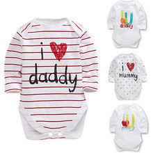 Hot New 0-12M Baby Boys Girls Newborn Infant Romper Jumpsuit Outfit Clothes Set