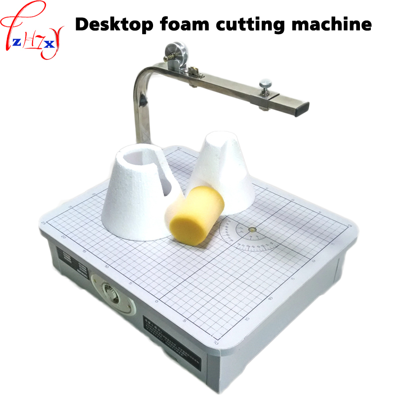 Desktop foam cutting machine S403 desktop hot wire electric foam cutting machine tools 1pc foam cut machine craft hot knife styrofoam cutter 1pc 10cm pen cuts foam kt board wax cutting machine electronic voltage transformer adaptor