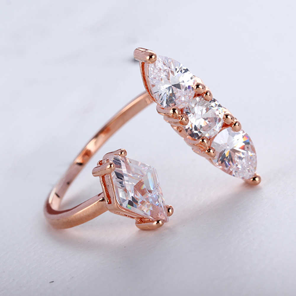 Slovecabin Nyata 925 Sterling Perak Batu Cincin untuk Wanita Vintage Kristal Cincin Wanita Perak Sterling Perhiasan Perak 925 Cincin