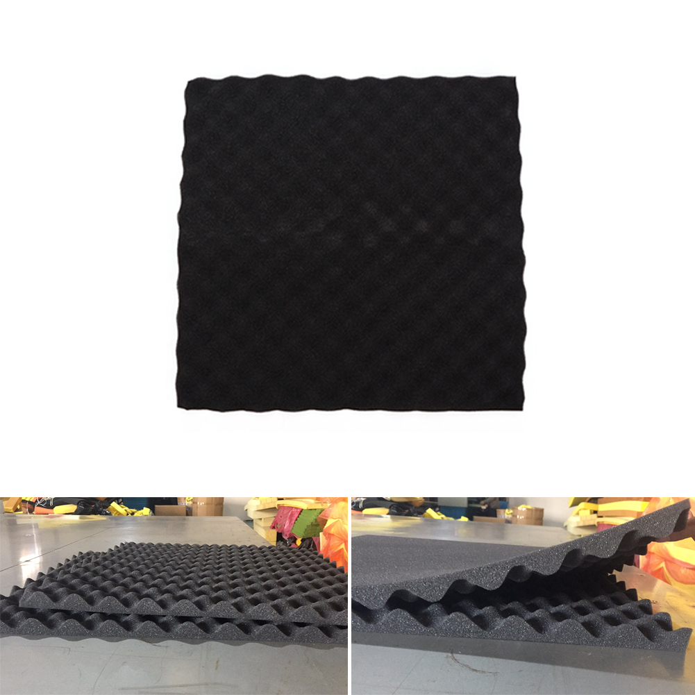 Safety 50x50x5cm Studio Acoustic Soundproof Sponge Foam Sound Absorption Treatment Panel Wedge Tiles PolyurethaneSafety 50x50x5cm Studio Acoustic Soundproof Sponge Foam Sound Absorption Treatment Panel Wedge Tiles Polyurethane