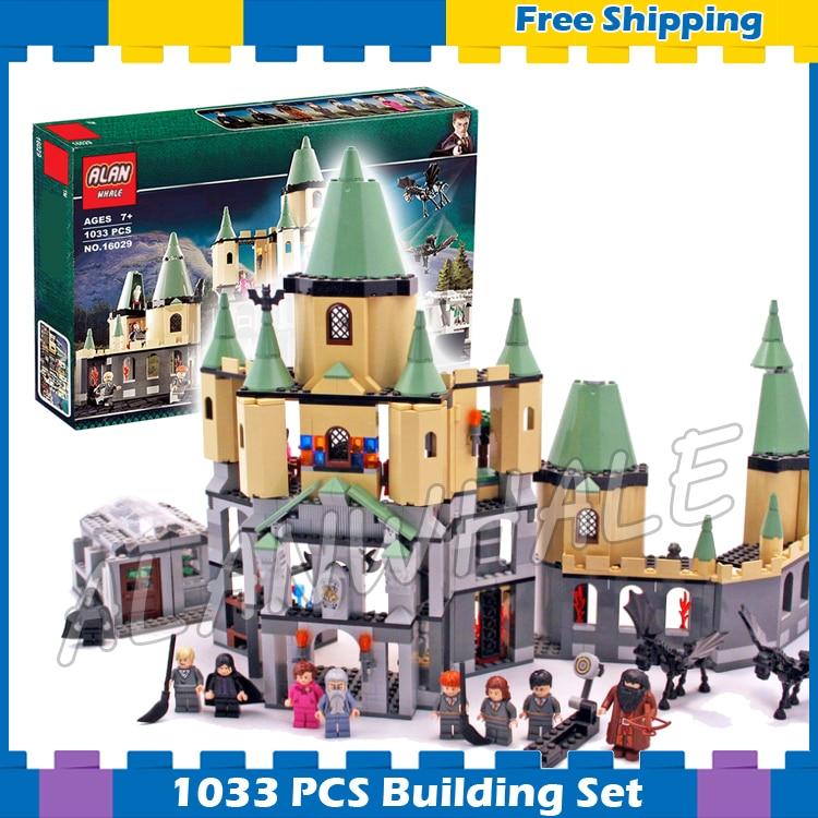 1033pcs Magic Hogwarts Castles School Phoenix 16029 Model Building Blocks Assemble Gifts Set Children Movie Compatible With Lego