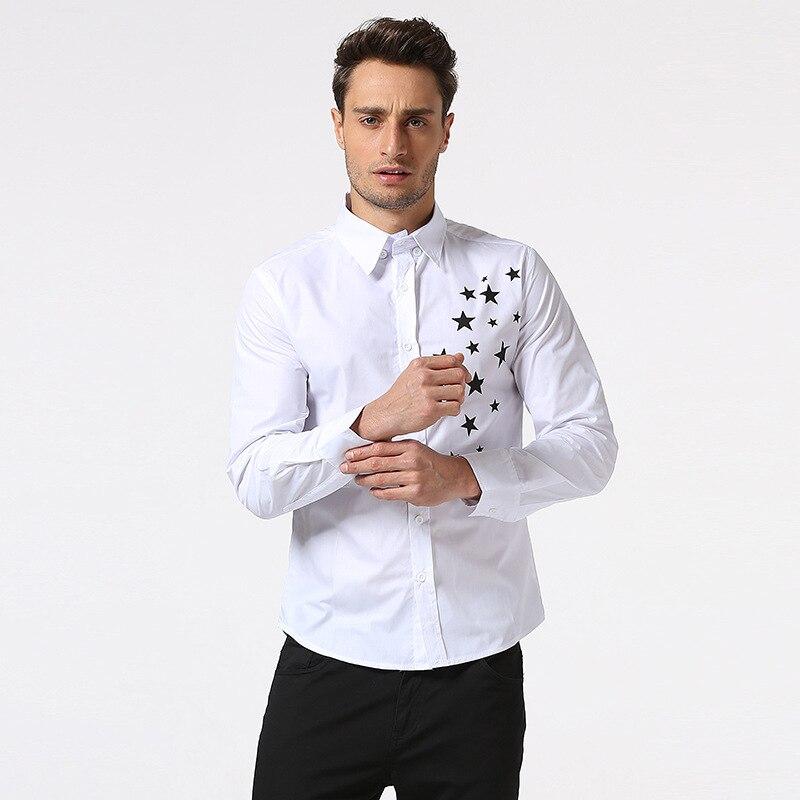 2018 Νέο Άνοιξη Πουλόβερ Άνδρας Casual camisa - Ανδρικός ρουχισμός - Φωτογραφία 4