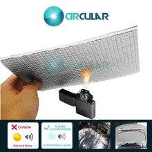 Car Firewall Ceiling Door Aluminum Foil Automotive Firewall Sound Deadener Heat