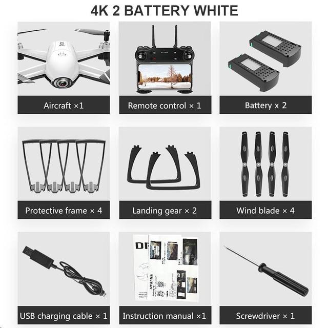 4K 2 Battery White