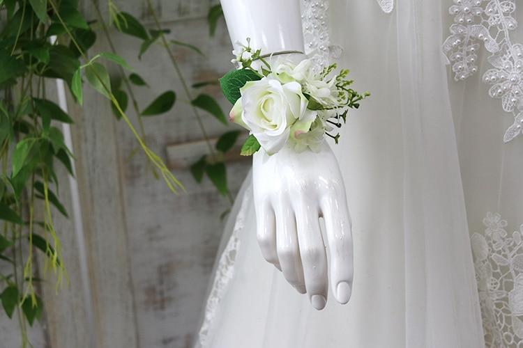 wedding wrist corsage bracelet (11)