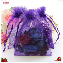 100pcs/lot Organza Gift Bags Strap Drawstring Candy Pouches Wholesale Jewellery Packaging With Star 10*15cm 5ZSH315-100(China)