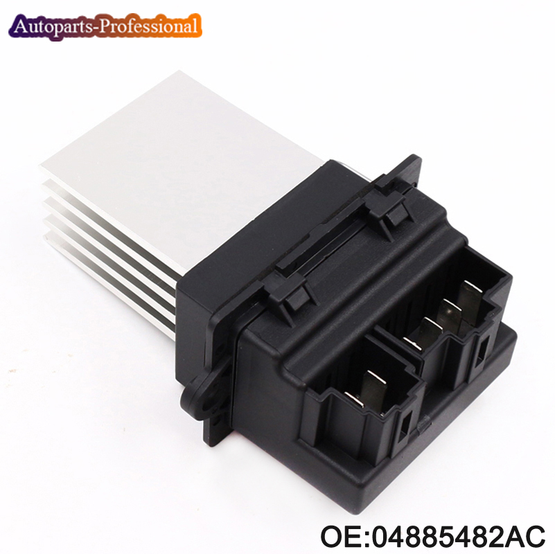 Nova 04885482AC Resistor Ventilador Aquecedor Do Carro Para A Chrysler/Voyager/Cidade/País/Dodge/JEEP 04885482AA/ D