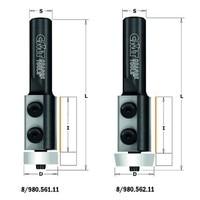 CMT 980.561.11 Moinhos de facas reversíveis para aparar lavabosdiam 19 05x30x83 RH|Acessórios para ferramenta elétrica| |  -