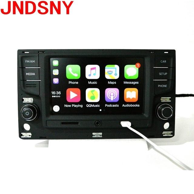 JNDSNY Mib 6,5 MIB системы вещания поддерживает Carpaly Bluetooth заднего изображения для Volkswagen Golf 7 Mk7 семь Passat B8 MIB