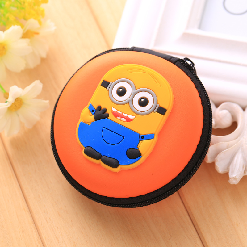 Luggage & Bags Small Elephant Coin Purse Eva Silicone Headphone Holder Cute Cartoon Organizer Bag Porte Monnaie Gift Kids Novelty Wallets