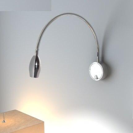 diy schlauch moderne wandleuchte schalter lesen led wandleuchten fr hauptbeleuchtung nachtwandleuchte aluminium lampara