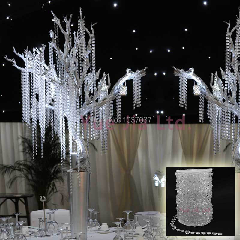 SKY CANDYBAR 99 FT Garland Diamond Strand Acrylic Crystal Bead Wedding Decoration-in Party DIY Decorations from Home u0026 Garden on Aliexpress.com | Alibaba ... & SKY CANDYBAR 99 FT Garland Diamond Strand Acrylic Crystal Bead ...