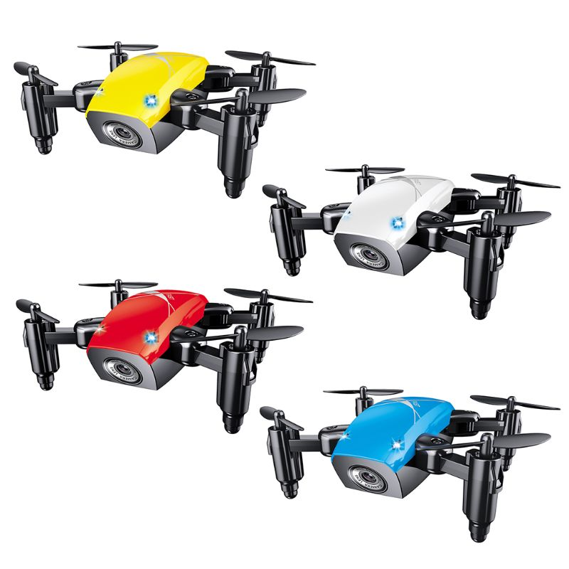 For S9HW Mini Drone S9 No Camera RC Helicopter Foldable Drones Altitude Hold Quadcopter