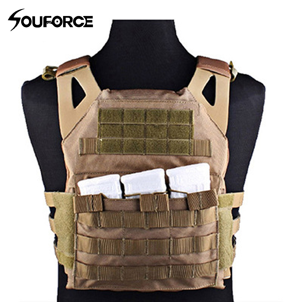 Tactical Vest Chest Protective JPC Vest Outdoor Multi-function Combat Vest Camouflage CS Field Protective Equipment upgraded version of the cs special tactical vest vest american field equipment thickening tactical vest