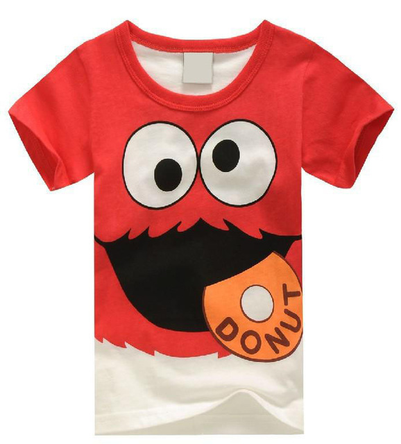 Más niños niñas ropa de verano de la camiseta de los niños héroe Popular impresión t camisa niños multicolor super de dibujos animados de moda de diseño