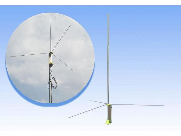 Fmuser GP200 5w 100W 1/2 wave Professional FM Transmitter GP Antenna BNC SL16 with 8M. cable