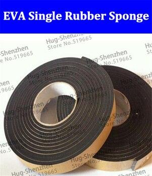 25PCS/lot Single Rubber Seal Strip EVA Sponge Tape Adhesive Tapes Black 4cm*5m*2mm/3cm*5m*2mm/5.5cm*5m*2mm for terminal breakout