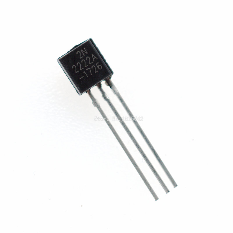 100PCS/LOT in-line 2N2222A triode transistor NPN switching transistors TO-92 0.6A 30V NPN 2N2222100PCS/LOT in-line 2N2222A triode transistor NPN switching transistors TO-92 0.6A 30V NPN 2N2222