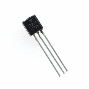 100PCS/LOT in-line 2N2222A triode transistor NPN switching transistors TO-92 0.6A 30V NPN 2N2222