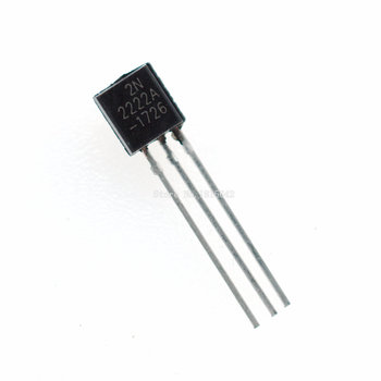 100PCS/LOT in-line 2N2222A triode transistor NPN switching transistors TO-92 0.6A 30V 2N2222 - sale item Active Components