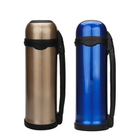 Outdoor mountaineering travel pot sports bottle 1.2L wagon vacuum stainless steel vacuum flask wholesale custom Travel Cup