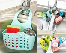 New Sponge Holder Sink Caddy Soap For Kitchen Plastic Storage Baskets
