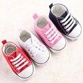 Barato Primavera Classic Baby Boy Chica Zapatos de Lona de Los Niños Botas Niños Botines Sapatos Bebe Recién Nacido de Los Niños Casual Sport Zapatillas de Deporte