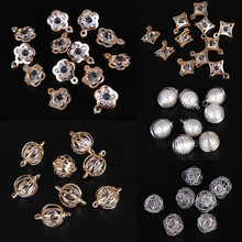 New Alloy Crystal Zircon Crystal Pendants Necklace Bracelet Accessories Jewery DIY Decorations(China)