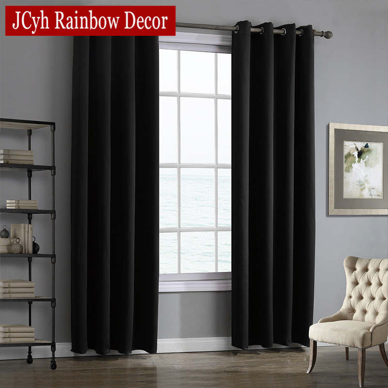 JRD Modern Blackout Curtains For Living Room Window Curtains For Bedroom Curtains Fabrics Ready Made Finished Drapes Blinds Tend 5