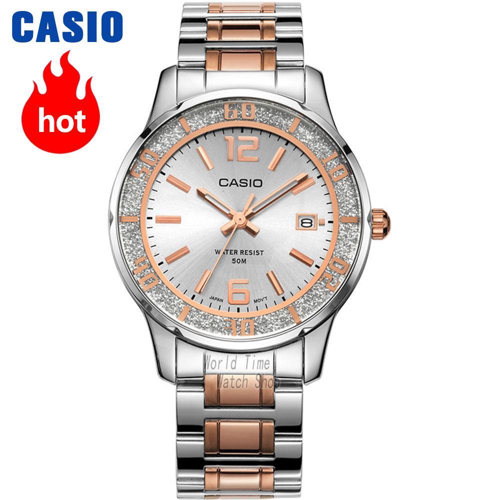 CASIO часы женские | Модные повседневные коммерческий кварцевые часы LTP-1359D-4A LTP-1359D-7A LTP-1359G-7A LTP-1359L-7A LTP-1359RG-7A LTP-1359SG-7A