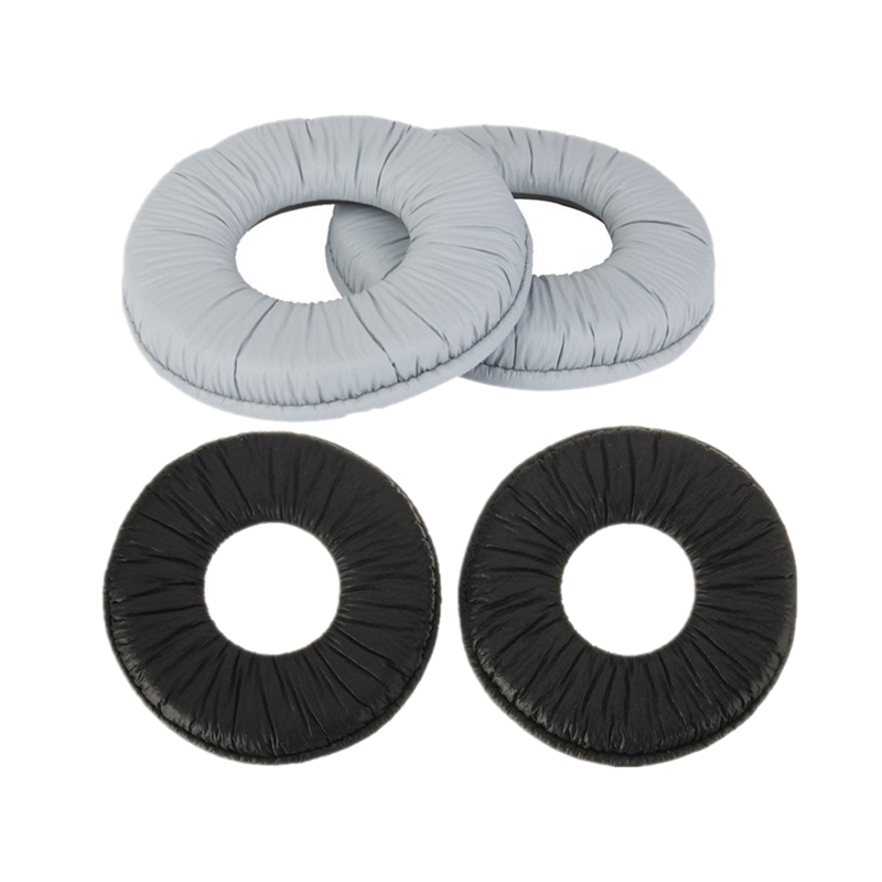 70mm Gray Black Ear Pads Replacement Ear Pad Cushions Earpads For Sony MDR-ZX100 ZX110 ZX300 V150 RP-DJ200 Headphones 12.21