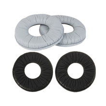 70mm Gray Black Ear Pads Replacement Ear Pad Cushions Earpads for Sony MDR-ZX100 ZX110 ZX300 V150 RP-DJ200 Headphones 12.21 earphones sony mdr zx110 headphone for phone earphones for computer on ear