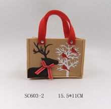 4 pcs/set  Lovely Christmas Gift Bags