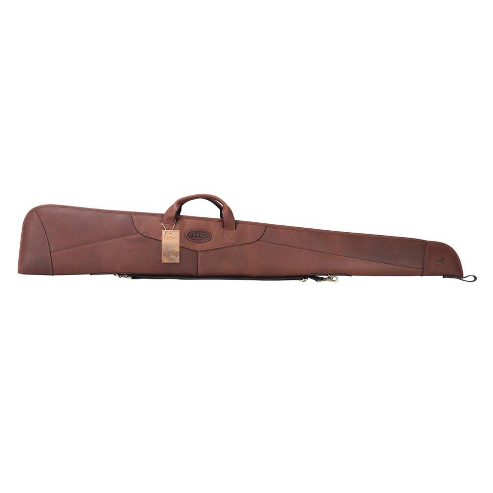 Tourbon Gun-Bag Hunting-Shotgun-Case Genuine-Leather Gun-Accessories Protection-Bag Slip