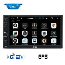 2 Din Car pc Stereo Android 6.0 7'' Car Radio Player GPS Navigation for Car Support WiFi/Steering Wheel Control/1080P/OBD2/3G/4G