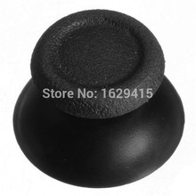 200 PCS Black Replacement Analog Thumbsticks Thumb Stick Joystick Caps For Sony PlayStation 4 PS4 Controller Accessories