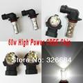 2 Unids/lote Virutas Del Cree Led Canbus 9006 hb4 P22D 9005 HB3 P20D 60 w de alta Potencia LED de Coches niebla bombillas blanco corriendo 12 V 24 V DC