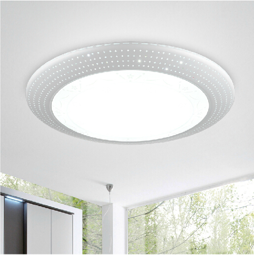 Tiny Spots Beautiful Ceiling Led Lamp Dia 45cm 65cm 85cm 5730 Chip Dimmable Light For Home Lighting