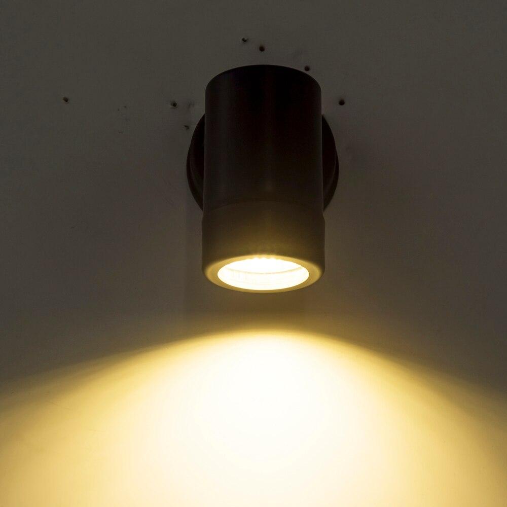 ZMJUJA 2019 Moderne outdoor LED wand lichter GU10 led wand lampe wasserdicht IP65 garten wand beleuchtung
