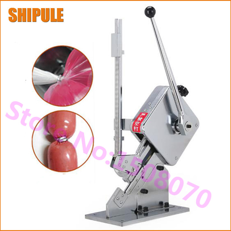 sausage making equipment U-shape sausage clipping machine manual sausage clipper machine price sausage making equipment u shape sausage clipping machine manual sausage clipper machine price