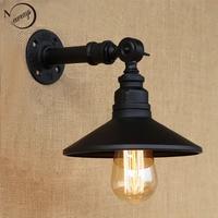 Vintage Loft 4 Color Iron Rust Steampunk Pipe Retro Wall Lamp E27 E26 Sconce Lights For