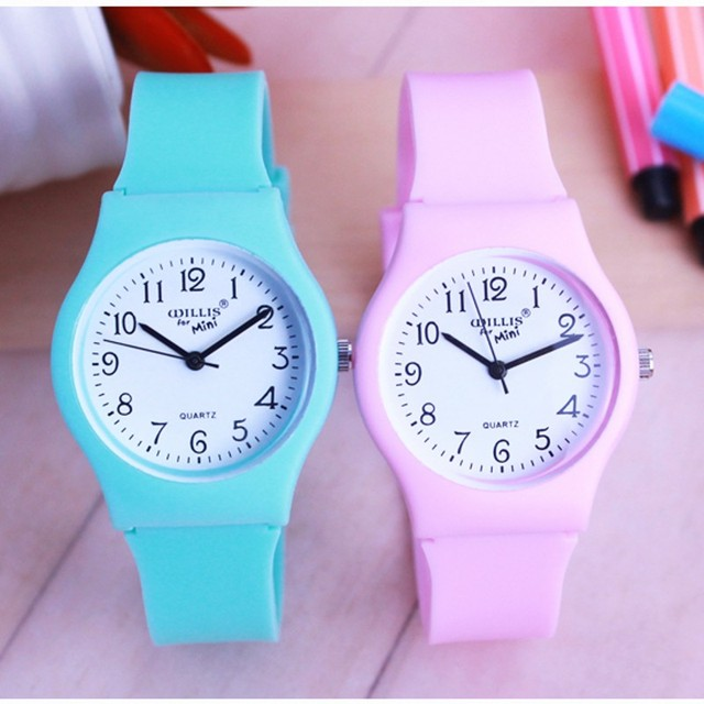New Fashion Simple Transparent Quartz Watch Waterproof Silicone wristWatch Students Water Resistant Children Analog montre Clock