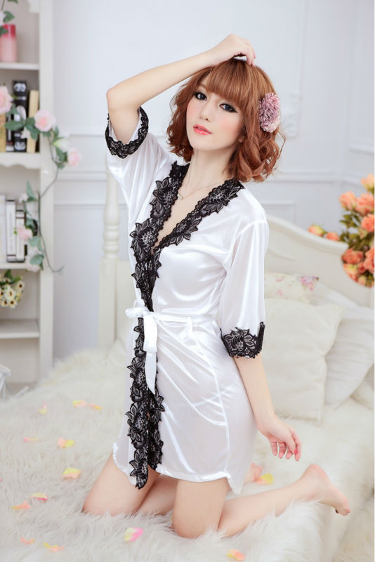 Nightgown Nightwear Women Dress Sexy Lingerie Nightdress  sleepwear  leisurewear sleepdress women  sleepshirt  Free Shipping