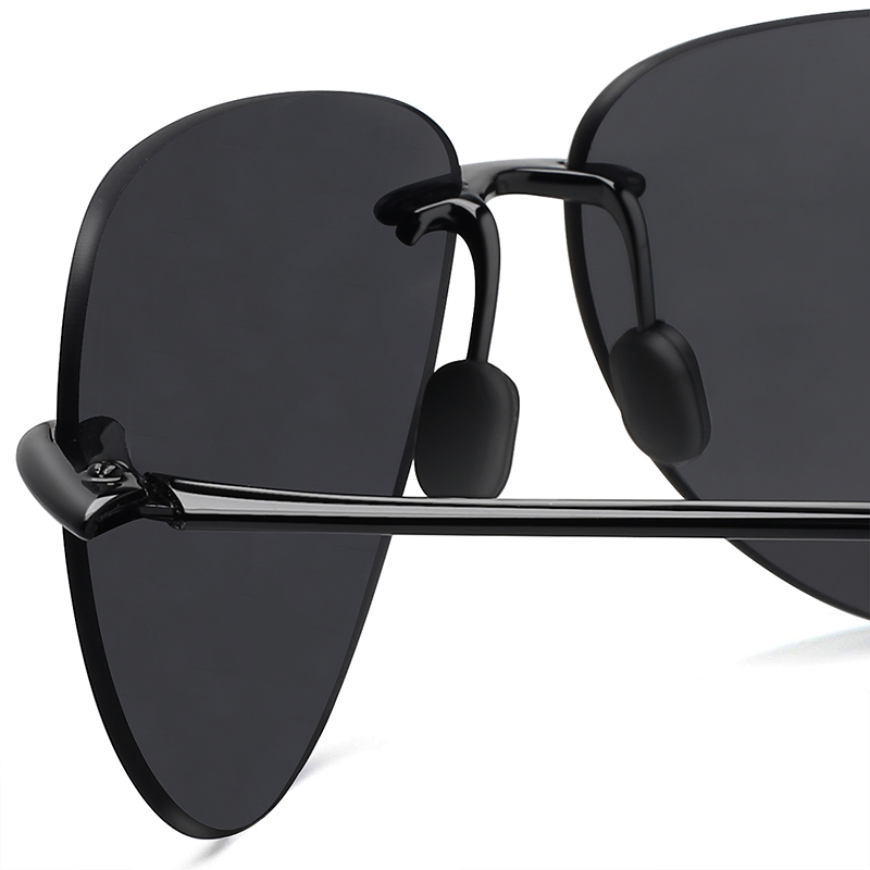 e577ac6f4e6 JULI Classic Sports Sunglasses Men Women Male Driving Golf Pilot Rimless  Ultralight Frame Sun Glasses UV400 ...
