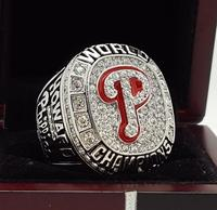 2008 Philadelphia Phillies World Series Championship Ring 11 Size Alloy In Stock For Sale
