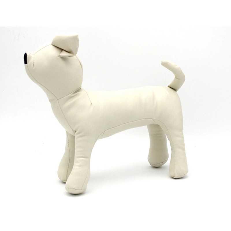 Skórzane manekiny dla psów pozycja stojąca modele dla psów zabawki dla zwierząt sklep ze zwierzętami manekin